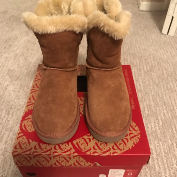 1f3f3488f6e Macy's Style & Co. Cold Weather Suede Boots